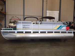 Used Harris Sunliner 200 Pontoon Boat For Sale
