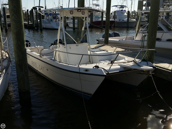 Used Glacier Bay 22 LX Power Catamaran Boat For Sale