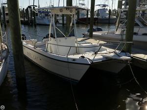 Used Glacier Bay 22 LX Power Catamaran Boat For Sale
