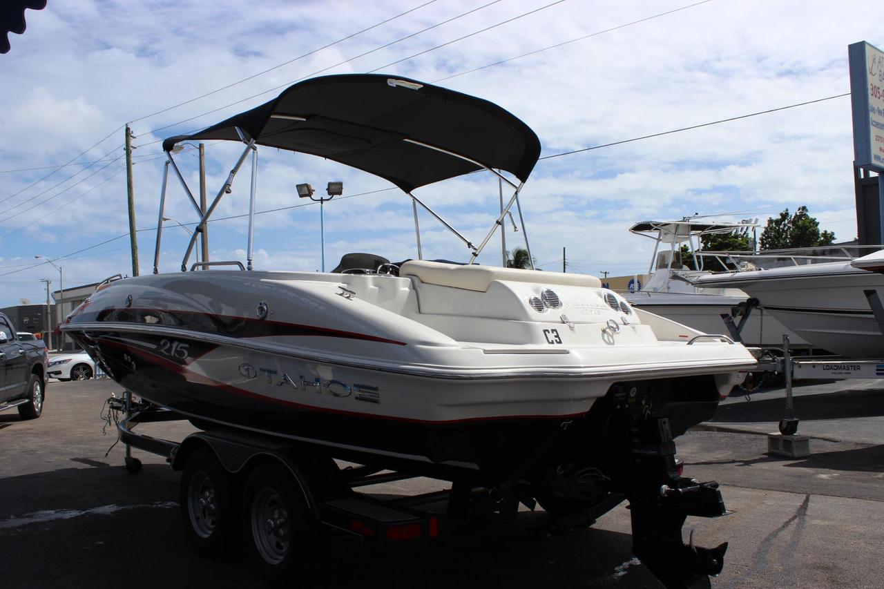Deck Boat Tahoe 215 For Sale Crestliner Pontoon Wiring Diagram