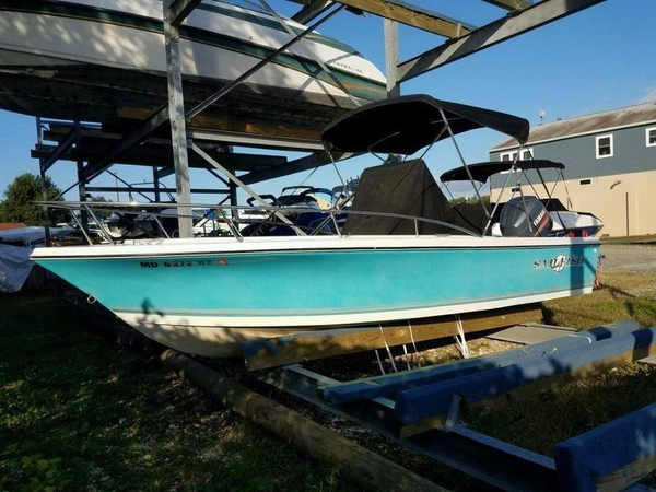 Used Sailfish 216 CC Center Console Fishing Boat For Sale