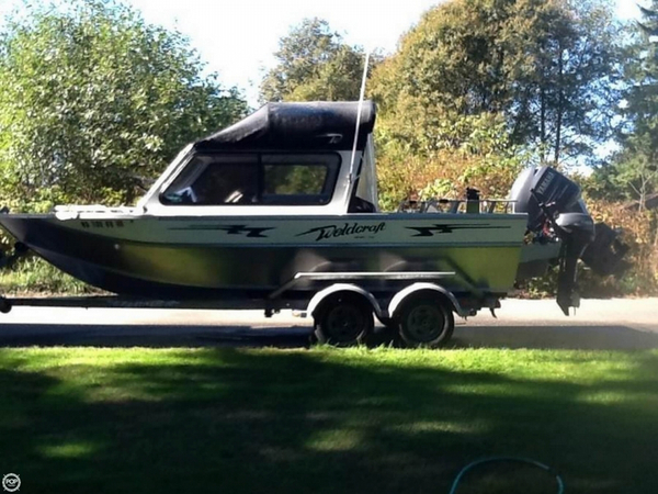 Used Weldcraft 202 Rebel Aluminum Fishing Boat For Sale