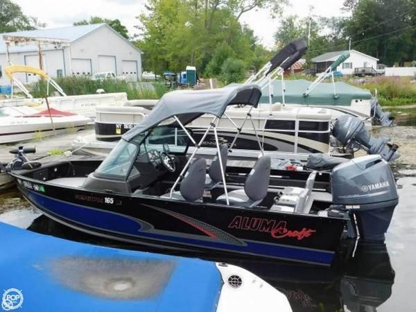Used Alumacraft 165 Aluminum Fishing Boat For Sale