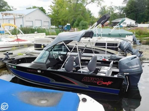 Used Alumacraft 16 Aluminum Fishing Boat For Sale