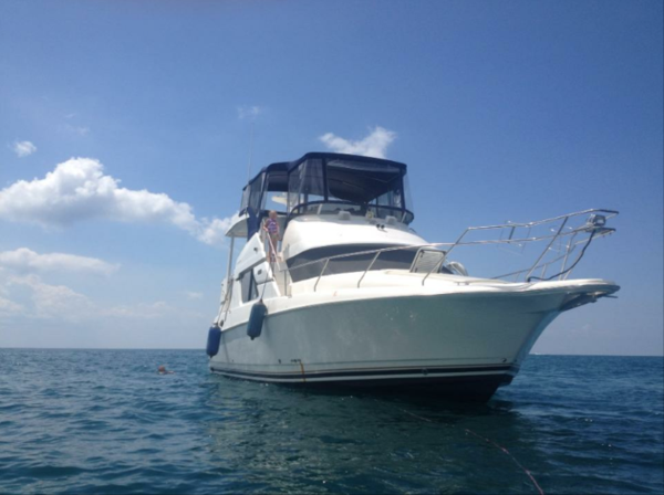 Used Silverton 392 Motor Yacht Cruiser Boat For Sale