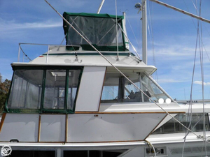 Used Pacemaker 40 Flybridge Motoryacht Aft Cabin Boat For Sale