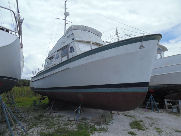 Used Bristol 42 Trawler Antique and Classic Boat For Sale