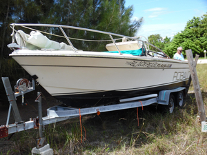 Used Robalo 20 Center Console W Trailer Antique and Classic Boat For Sale