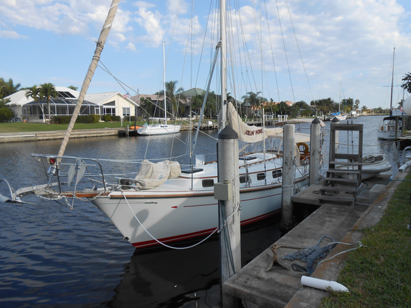Used Allied Princess Cutter Sailboat For Sale
