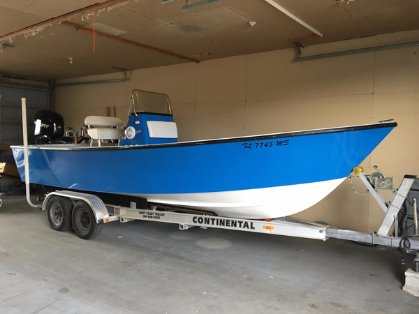 Used Aquasport 222 Saltwater Fishing Boat For Sale