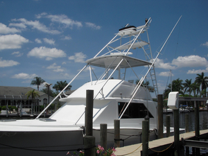 Used Chriscraft 42 Sportfish Sports Fishing Boat For Sale