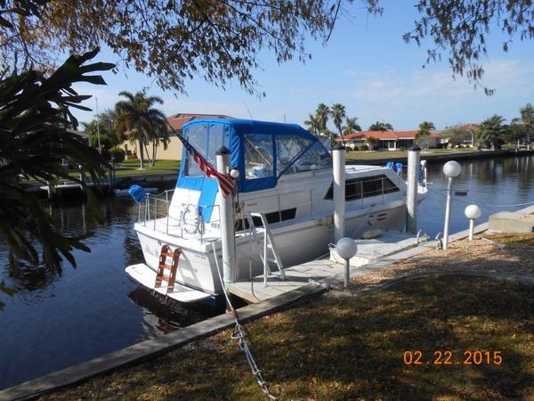 Used Trojan 36 Tricabin Motor Yacht For Sale