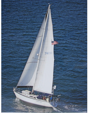 Used Cc Yachts 402 Centerboard Sloop Sailboat For Sale