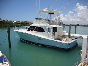 Used Post Marine 43 Convertible Fishing Boat For Sale