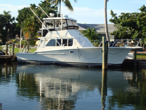 Used Jersey 40 Dawn Convertible Fishing Boat For Sale