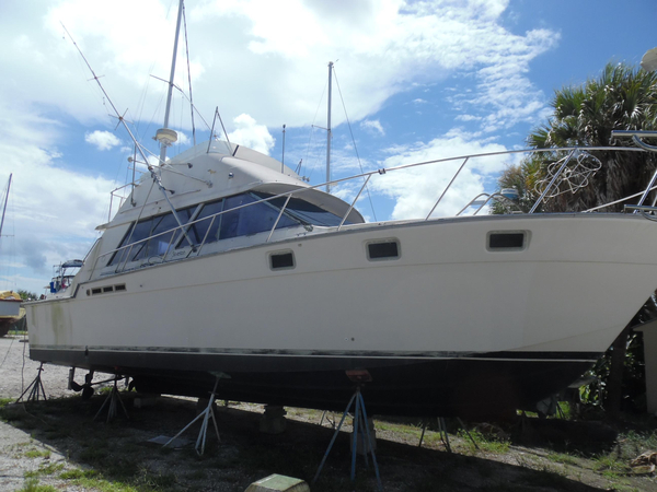 Used Silverton 40 Convertible Fishing Boat For Sale