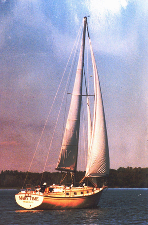Used Island Packet Centerboard Cutter Sailboat For Sale