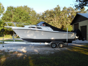 Used Mako 248 Walk Around Repowered Antique and Classic Boat For Sale