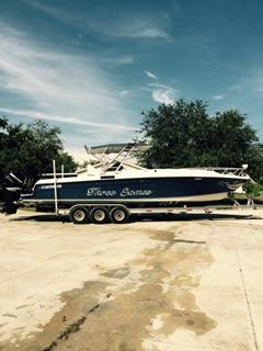Used Contender 35 Side Console Cuddy Cabin Boat For Sale