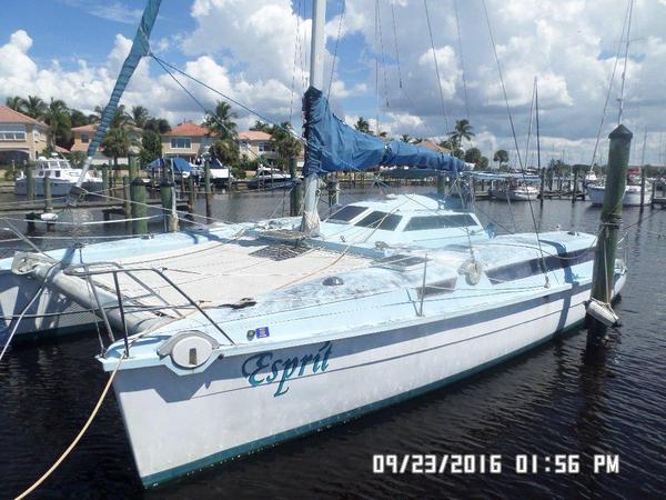 Used Edel Strat Cat 35 1 Catamaran Sailboat For Sale