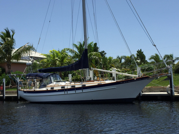 Used Cabo Rico 38 Cutter Cruiser Sailboat For Sale