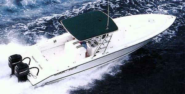 Used Marlin Yachts 350 SF Cuddy Cabin Boat For Sale