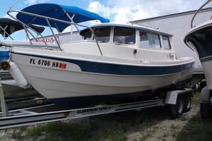 Used Cdory 22 Downeast Fishing Boat For Sale
