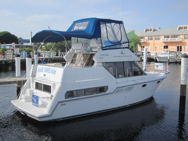 Used Carver Yachts 325 Aft Cabin Aft Cabin Boat For Sale