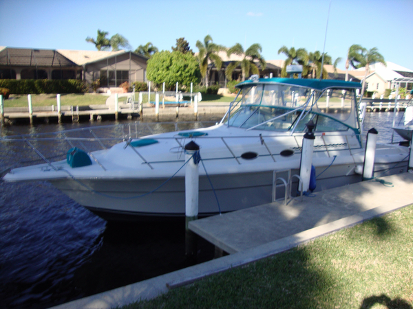 Used Stamas 360 Express Sports Fishing Boat For Sale