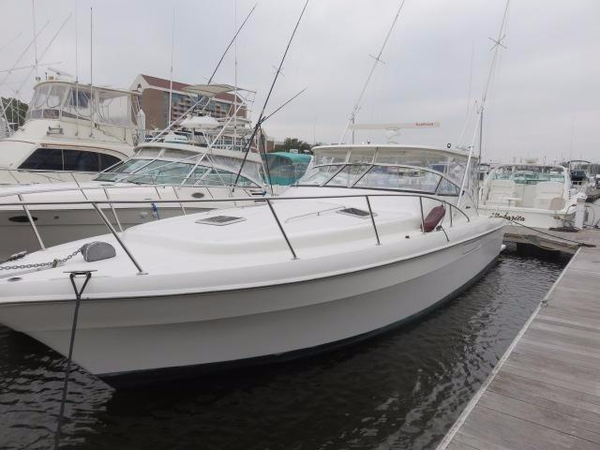 Used Mediterranean 38 Express Sport Fish Express Cruiser Boat For Sale