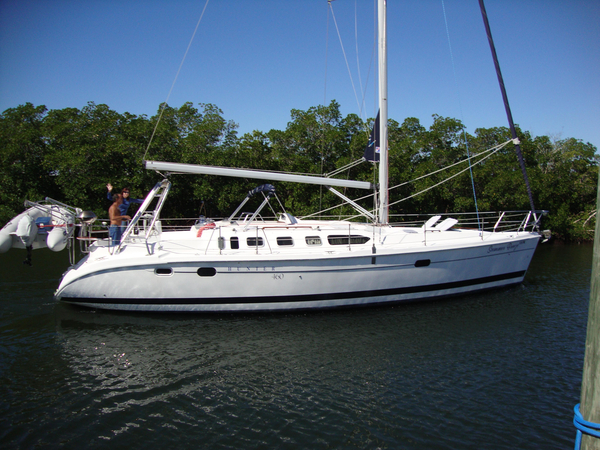 Used Hunter 460 Pristine Condition Many Updates Cruiser Sailboat For Sale