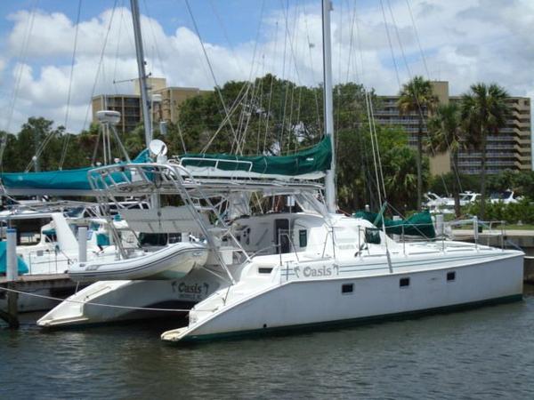 Used Manta Endeavour 42 Sail Catamaran Sailboat For Sale
