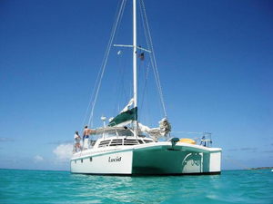 Used Manta 42 MK II Sail Catamaran Sailboat For Sale