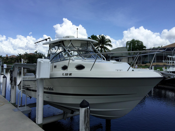 Used Hydrasports Vector 2800 Express Cruiser Boat For Sale