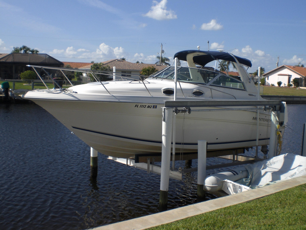 Used Monterey 282 Express Sport Sports Cruiser Boat For Sale