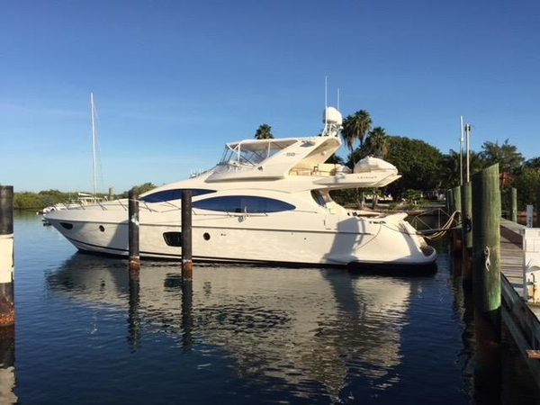 Used Azimut 68E Flybridge Boat For Sale