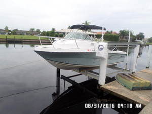 Used Angler 204wa Center Console Fishing Boat For Sale