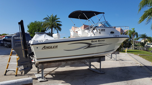 Used Angler 204 Limited Edition WA Cuddy Cabin Boat For Sale