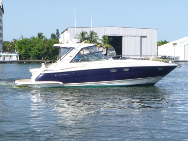 Used Monterey 40 IPS Sport Yacht Cuddy Cabin Boat For Sale
