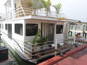 Used Destination 45 X 16 House Boat For Sale