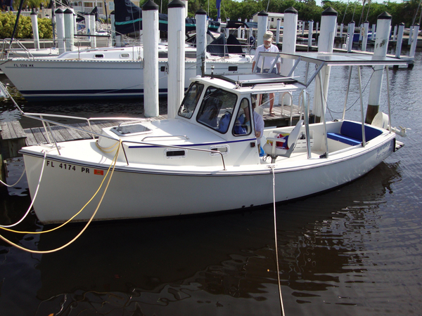 Used Atlas Boat Works Electric Cruiser Boat For Sale