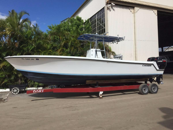 Used Contender 27 Center Console Center Console Fishing Boat For Sale