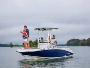 Used Yamaha Marine 190 FSH Sport Center Console Fishing Boat For Sale