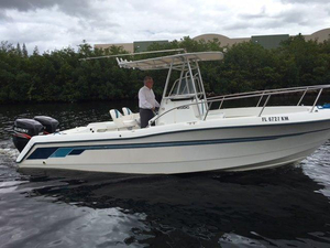Used Ranger 25CC Center Console Fishing Boat For Sale