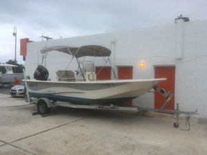 Used Carolina Skiff 218DLV Center Console Fishing Boat For Sale