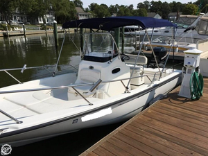 Used Boston Whaler 220 Dauntless Center Console Fishing Boat For Sale
