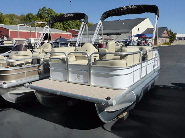 New Misty Harbor Boats E-1470 EC Pontoon Boat For Sale