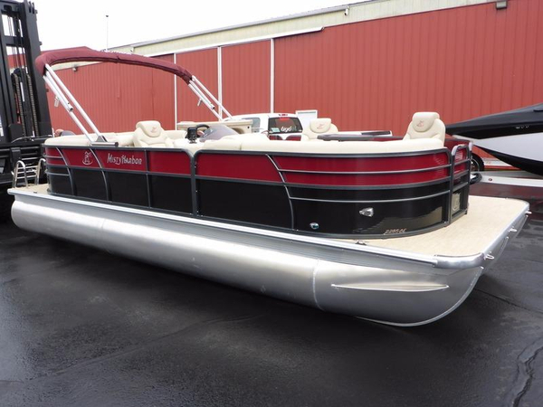 New Misty Harbor Boats Biscayne Bay 2285CE Pontoon Boat For Sale