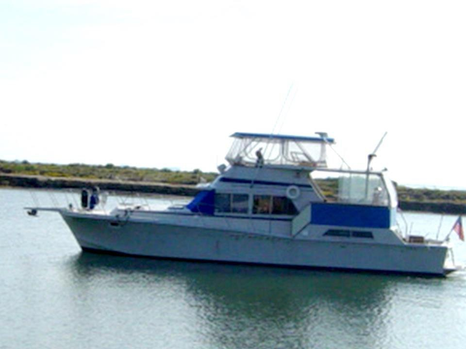 1984 Used Uniflite 48 Yacht Fisherman Motor Yacht For Sale