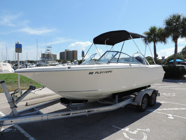 Used Key West 203 DFS Dual Console Boat For Sale